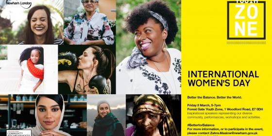 International Women's Day Poster at FGYZ